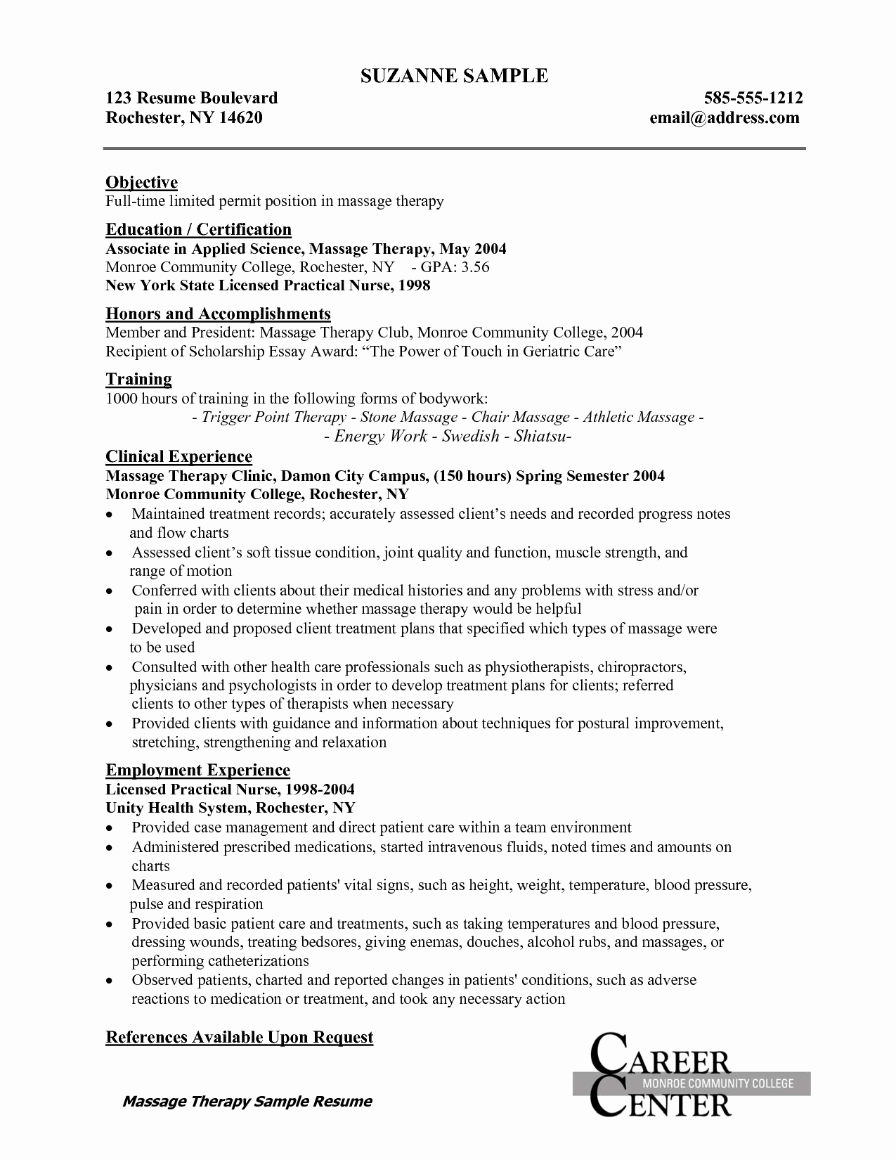Graduate Nurse Resume Template Best Of Licensed Practical Nurse Resume