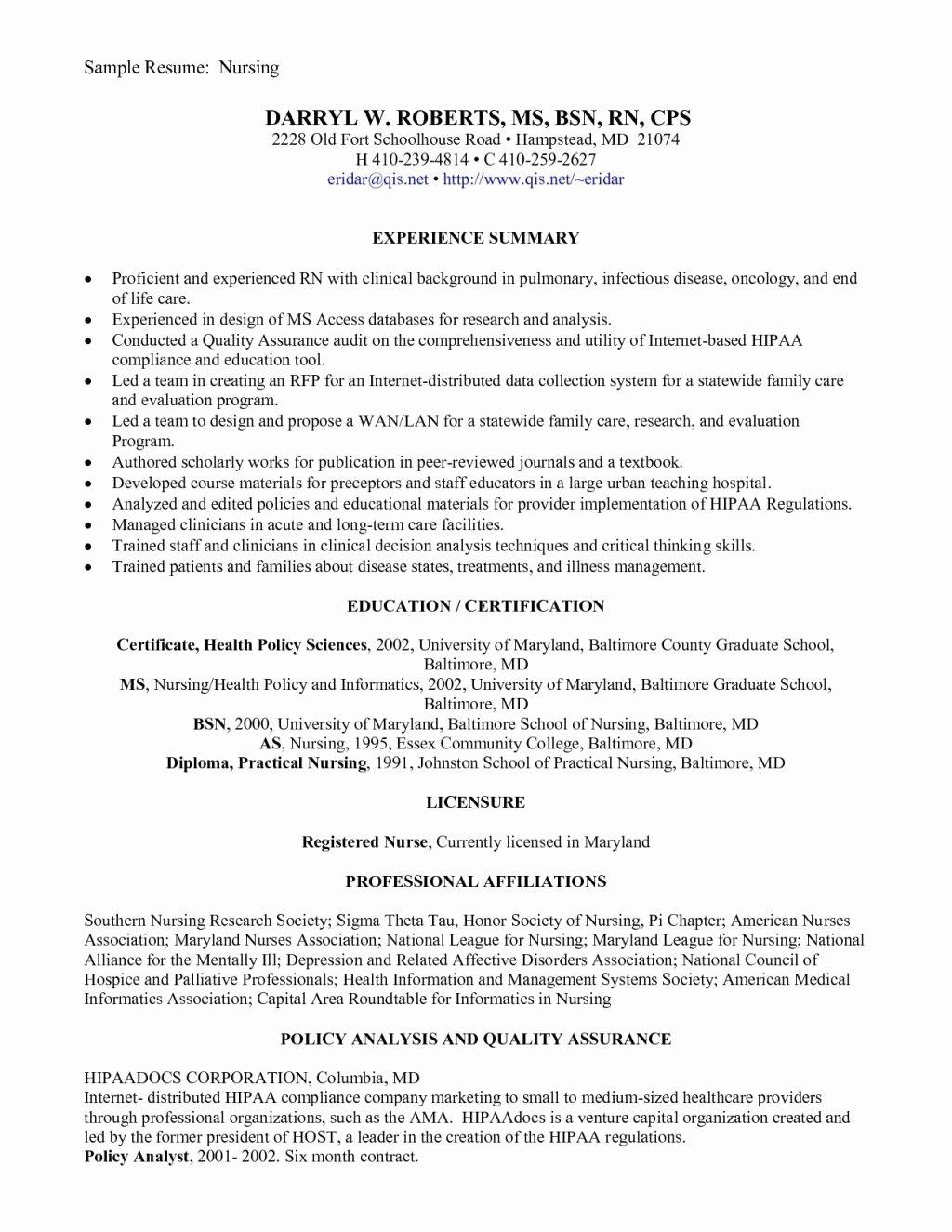 Graduate Nurse Resume Template Free Awesome Entry Level Rn Resume Template Free Tag 55 New Grad Rn