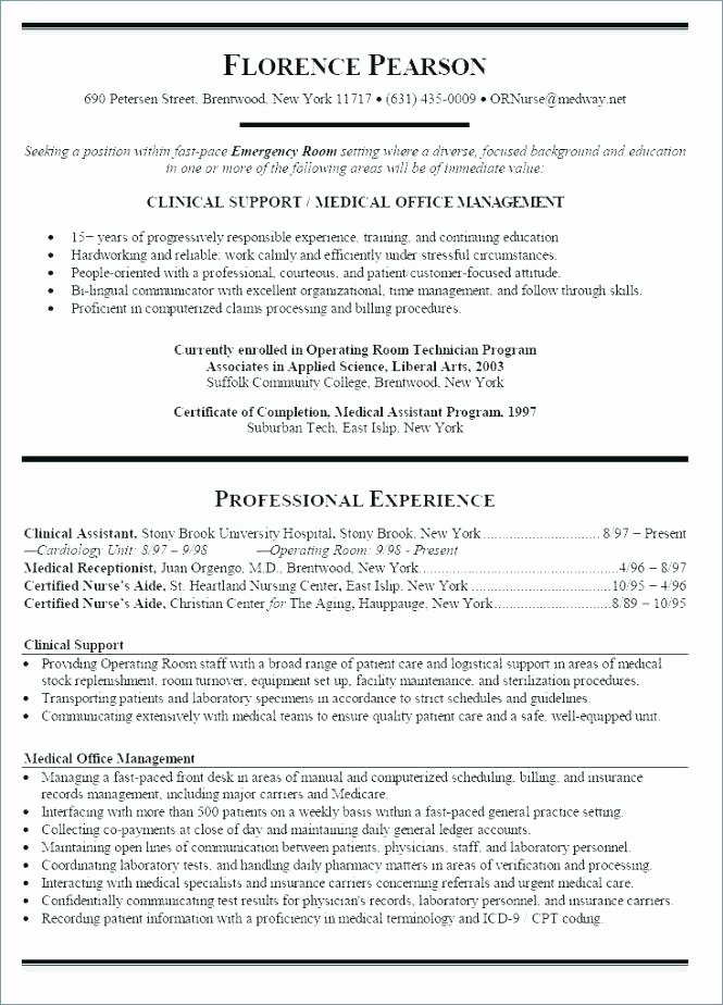 Graduate Nurse Resume Template Free Best Of New Graduate Nursing Resume Template – Trezvost