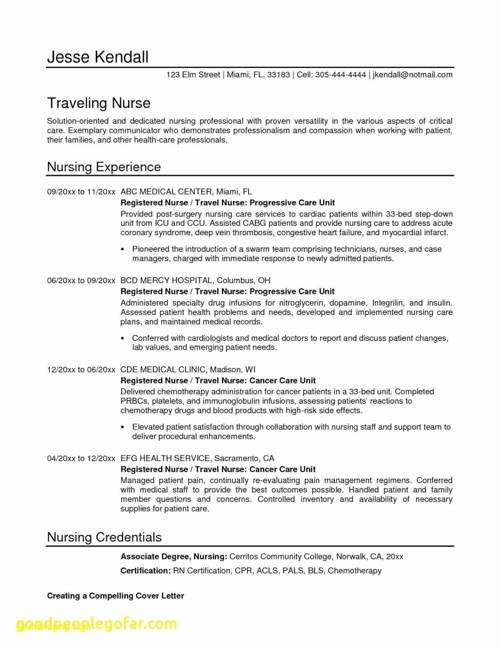 Graduate Nurse Resume Template Free Elegant Entry Level Rn Resume Template Free Tag 55 New Grad Rn