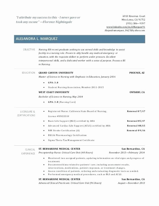 Graduate Nurse Resume Template Free Unique 15 Best HTML5 Vcard and Resume Templates for Your Personal
