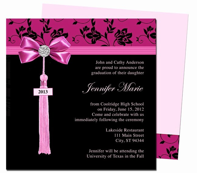 Graduation Invitation Card Template Beautiful Best 25 Graduation Templates Ideas On Pinterest
