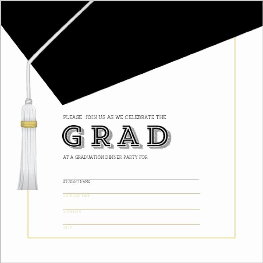 Graduation Invitation Card Template Best Of 40 Free Graduation Invitation Templates Template Lab