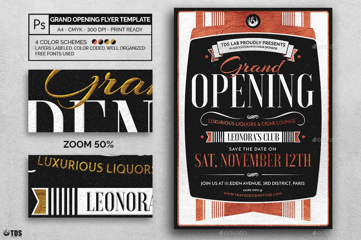 Grand Opening Flyer Template Best Of Grand Opening Flyer Template by Lou606