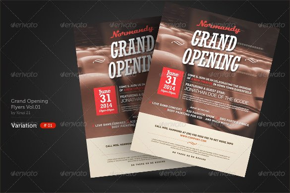 Grand Opening Flyer Template Elegant 28 Grand Opening Flyer Templates to Download