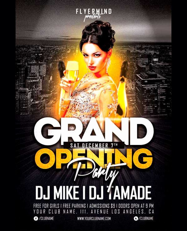 Grand Opening Flyer Template Fresh 10 Store Opening Flyer Templates Ai Psd Docs Pages