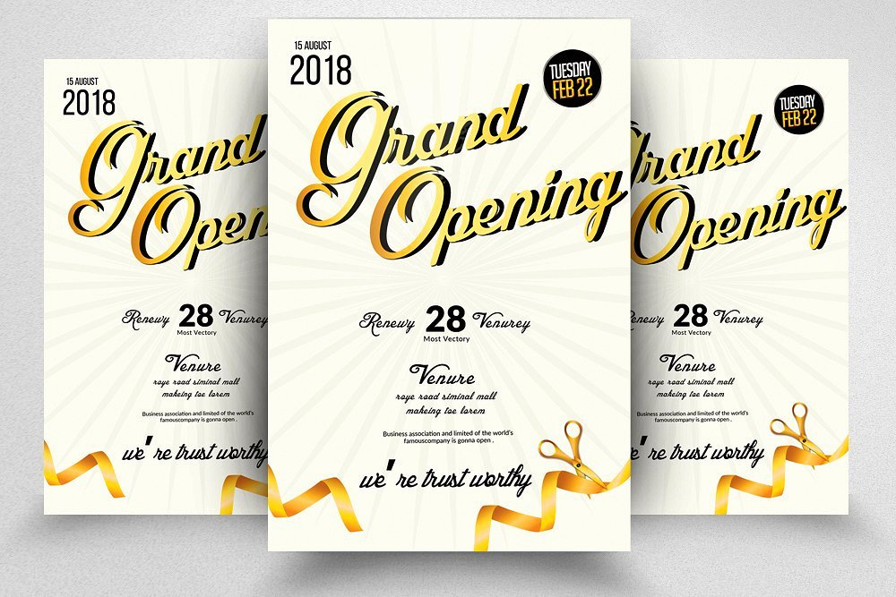 Grand Opening Flyer Template Lovely Grand Opening Flyer Template Flyer Templates Creative