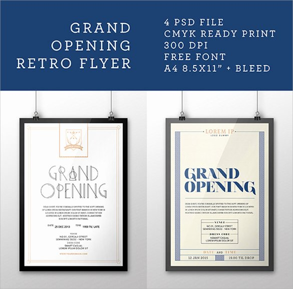 Grand Opening Flyer Template Luxury 16 Grand Opening Flyer Templates