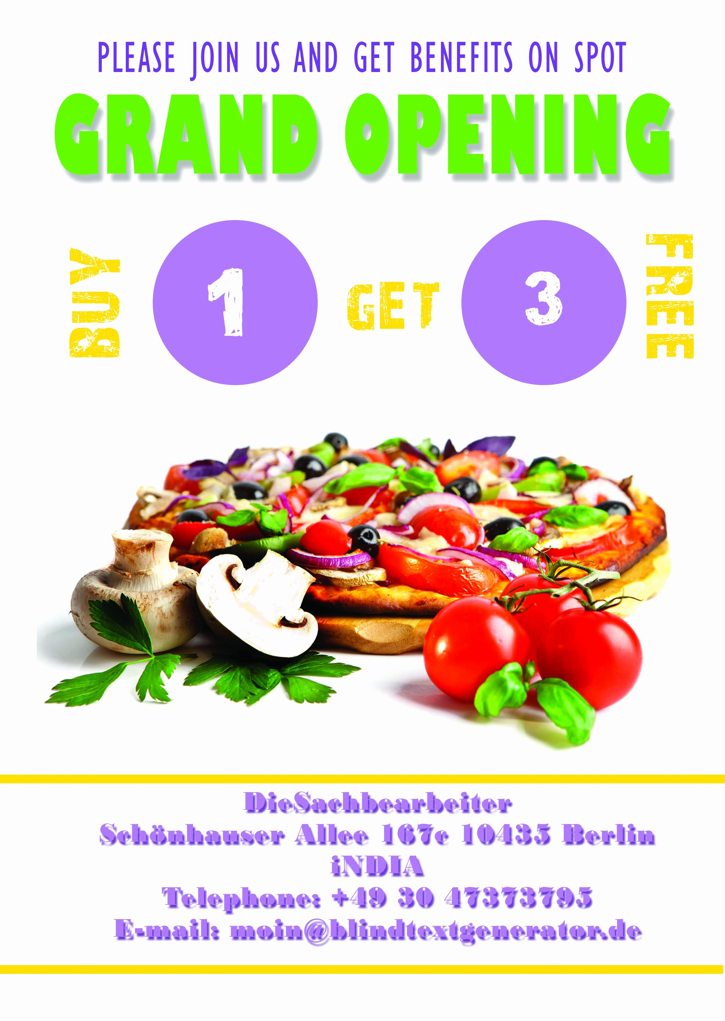 Grand Opening Flyer Template New 20 Grand Opening Flyer Templates Free Demplates