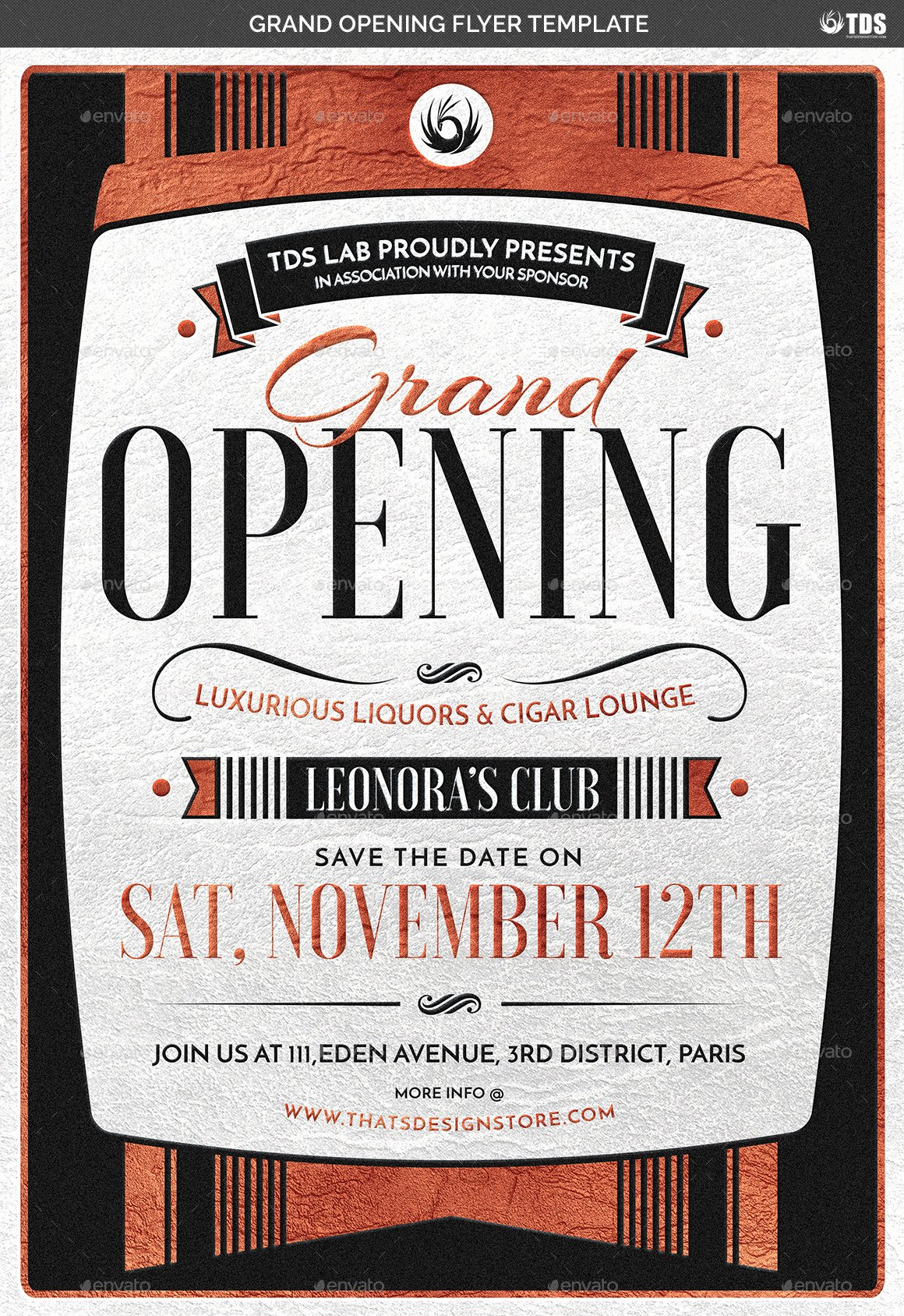 Grand Opening Flyer Template Unique Grand Opening Flyer Template by Lou606