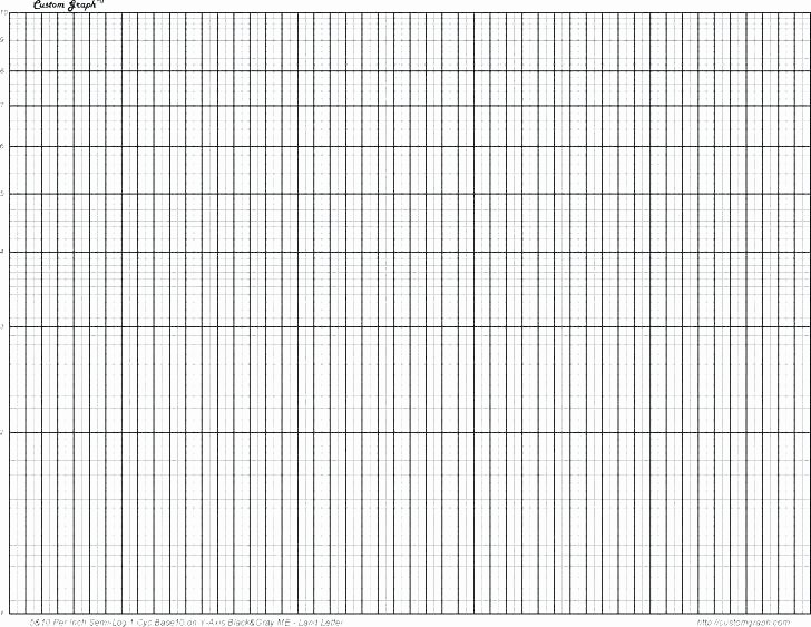 Graph Paper Template Excel Awesome Semi Log Graph Paper Excel Paper Template Print Agenda