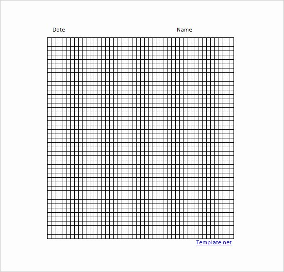 Graph Paper Template Excel Beautiful 12 Graph Paper Templates Pdf Doc