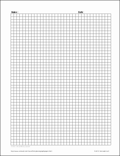 Graph Paper Template Excel Luxury Free Graph Paper Template Printable Graph Paper and Grid