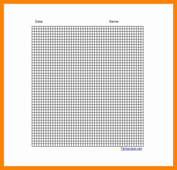 Graph Paper Template Excel New 10 Graph Paper Template Excel