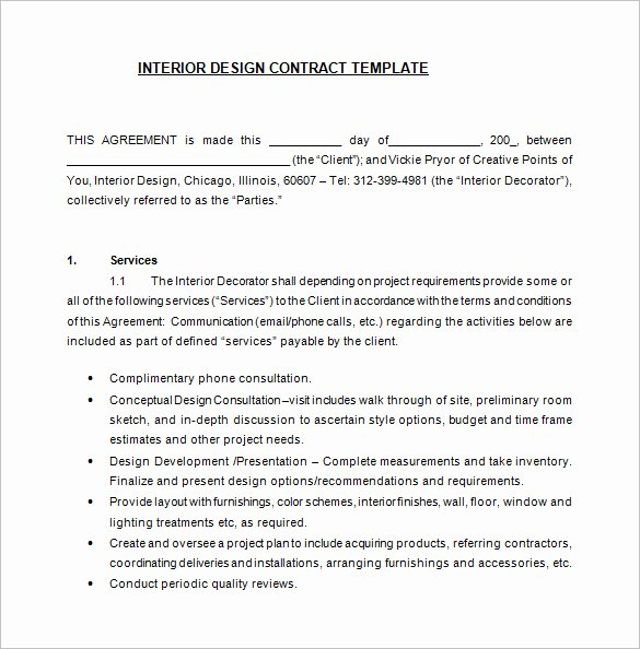 Graphic Design Contract Template Pdf Beautiful Freelance Graphic Design Contract Template Pdf
