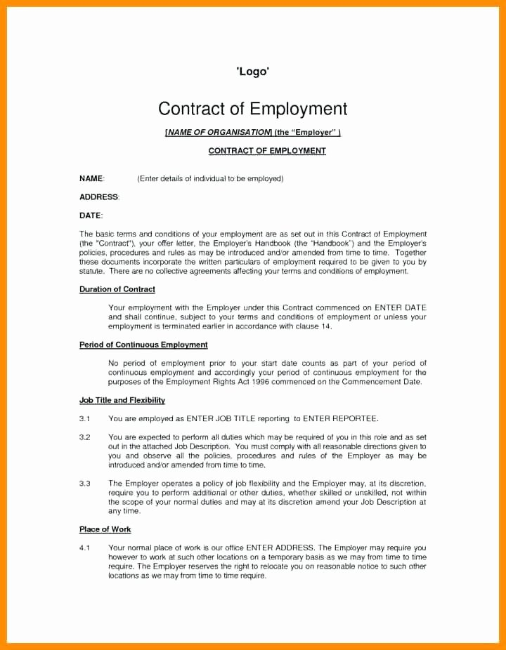 Graphic Design Contract Template Pdf Lovely Contract Template Uk – Flybymedia