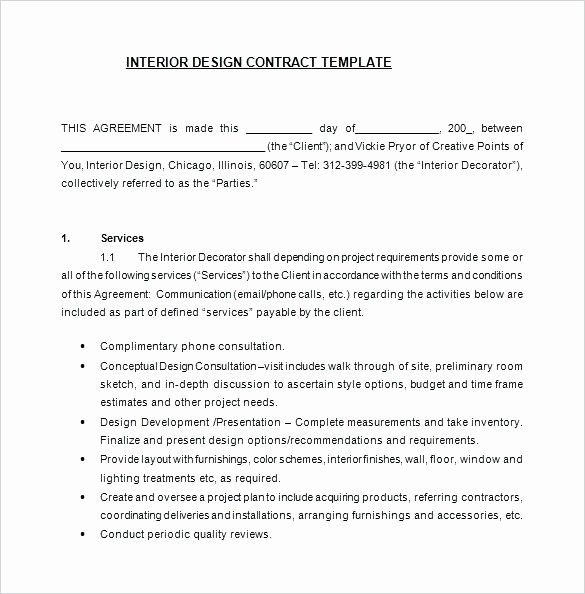 Graphic Design Contract Template Pdf Lovely Logo Design Contract Template – Sabzevarkhabar