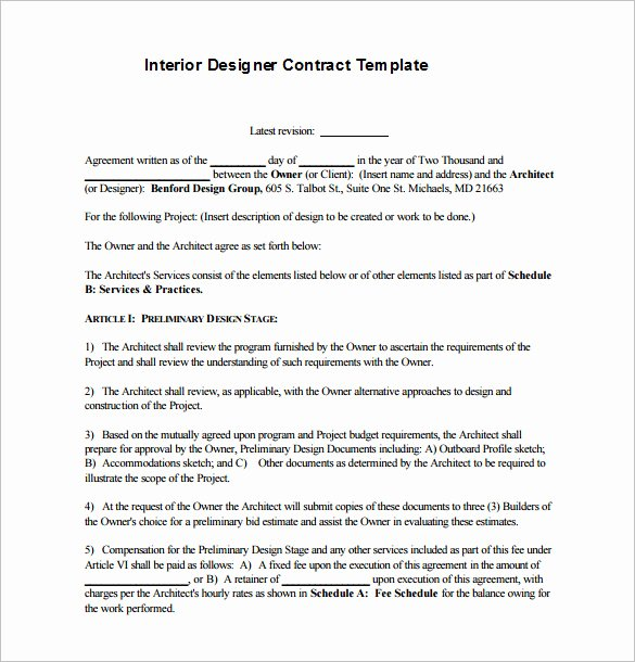 Graphic Design Contract Template Pdf Unique Freelance Graphic Design Contract Template Pdf