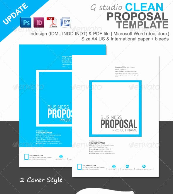 Graphic Design Invoice Template Indesign Awesome 20 Creative Invoice & Proposal Template Designs