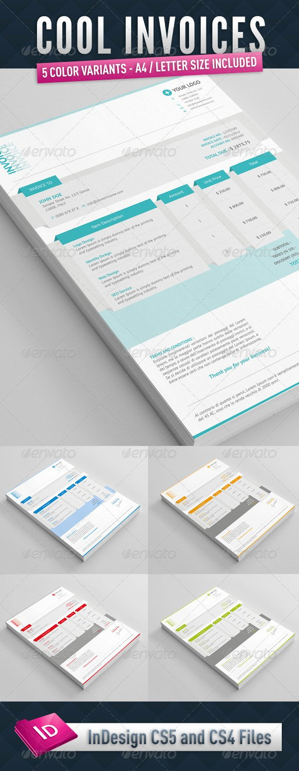 Graphic Design Invoice Template Indesign Awesome Cool Indesign Backgrounds Tinkytyler Stock S