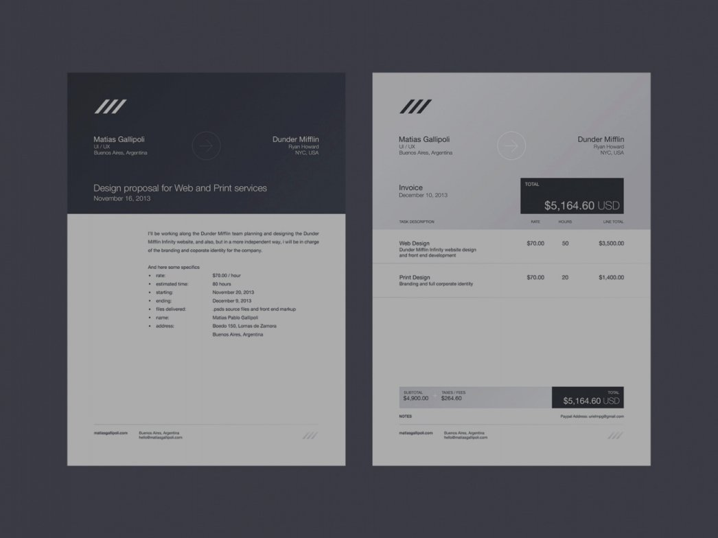 Graphic Design Invoice Template Indesign Elegant Indesign Invoice Template