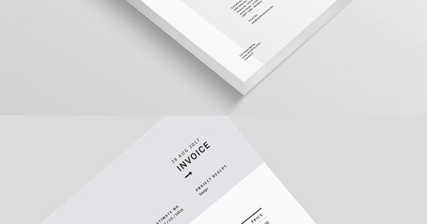 Graphic Design Invoice Template Indesign Inspirational Fashion Invoice Template Indesign Indd