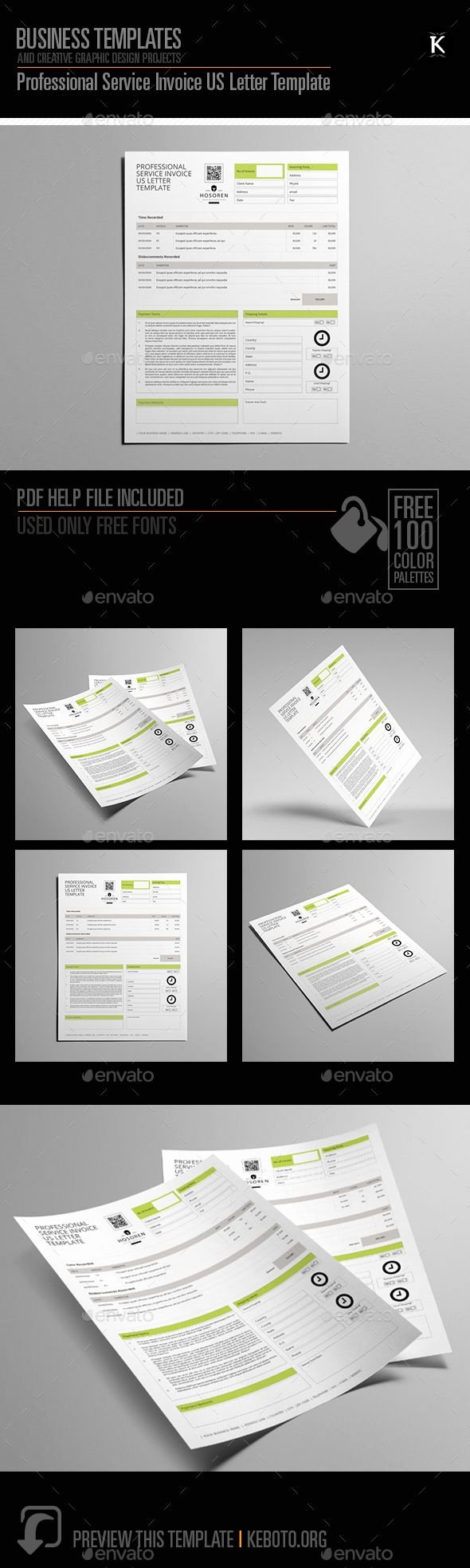 Graphic Design Invoice Template Indesign Luxury Pin by Cool Design On Proposal & Invoice Design