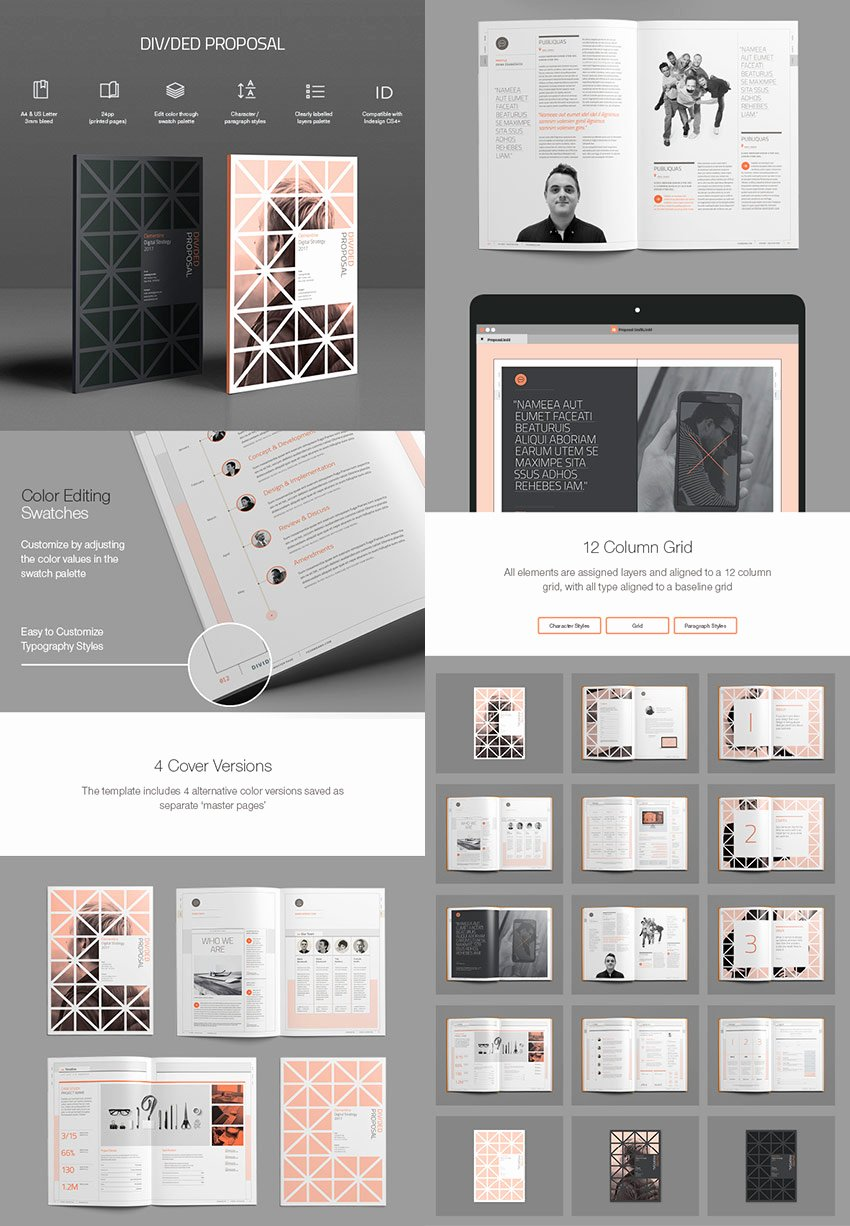 Graphic Design Proposal Template Awesome 20 Best Business Proposal Templates Ideas for New Client