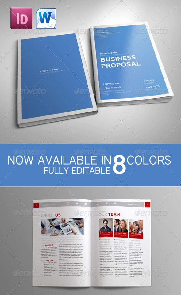 Graphic Design Proposal Template Awesome How to Customize A Simple Business Proposal Template In Ms