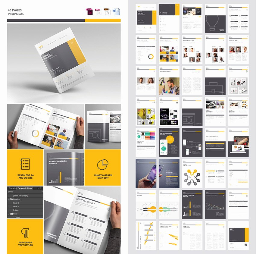 Graphic Design Proposal Template Best Of 20 Best Business Proposal Templates Ideas for New Client