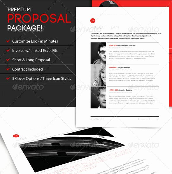 Graphic Design Proposal Template Elegant Proposal Template Category Page 1 Efoza
