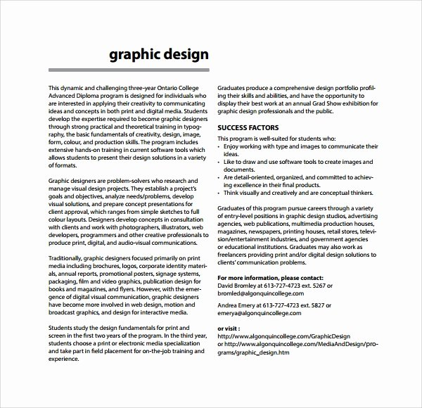 Graphic Design Proposal Template Fresh 13 Freelance Proposal Templates