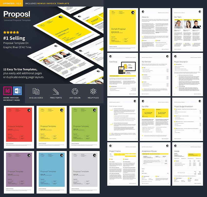 Graphic Design Proposal Template Fresh 20 Best Business Proposal Templates Ideas for New Client