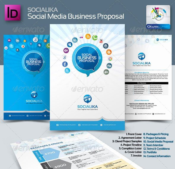 Graphic Design Proposal Template New 20 Creative Invoice & Proposal Template Designs