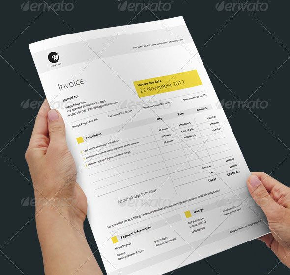Graphic Design Proposal Template Unique 20 Creative Invoice & Proposal Template Designs