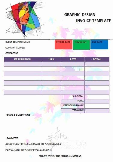 Graphic Designer Invoice Template Luxury 26 Professional Graphic Design Invoice Templates Demplates