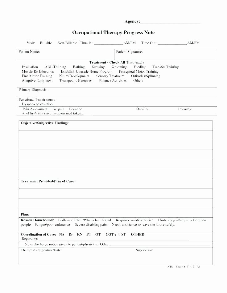 Group therapy Notes Template Elegant 6 Sample Notes Doc Templates Group therapy Progress Blank