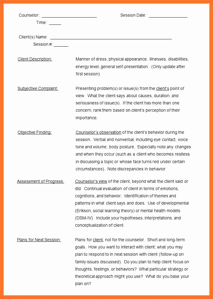 Group therapy Notes Template Fresh 6 Sample Notes Doc Templates Group therapy Progress Blank