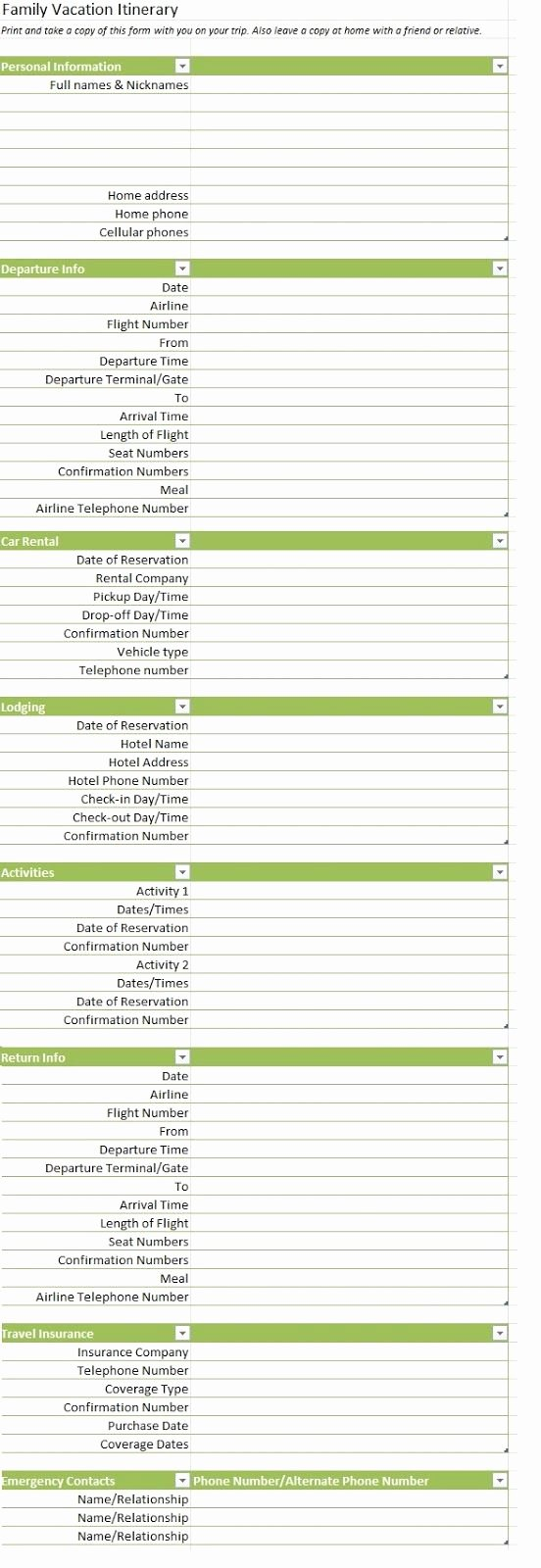 Group Travel Itinerary Template Beautiful 17 Best Ideas About Travel Itinerary Template On Pinterest