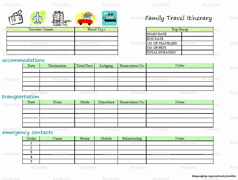 Group Travel Itinerary Template Elegant Business Trip Itinerary Template Meeting 4 Free Word