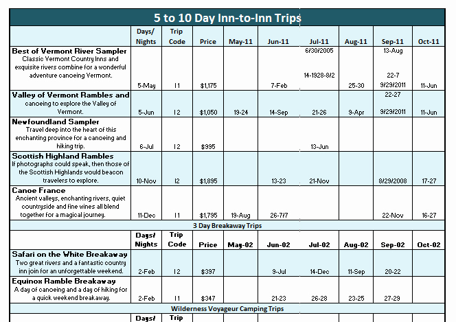 Group Travel Itinerary Template Luxury 4 Excel Vacation Itinerary Templates Excel Xlts