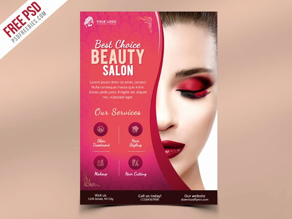 Hair Flyers Free Template Best Of 25 Hair Salon Flyer Templates Free & Premium Download