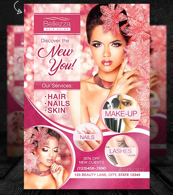 Hair Flyers Free Template Elegant 25 Hair Salon Flyer Templates Free & Premium Download