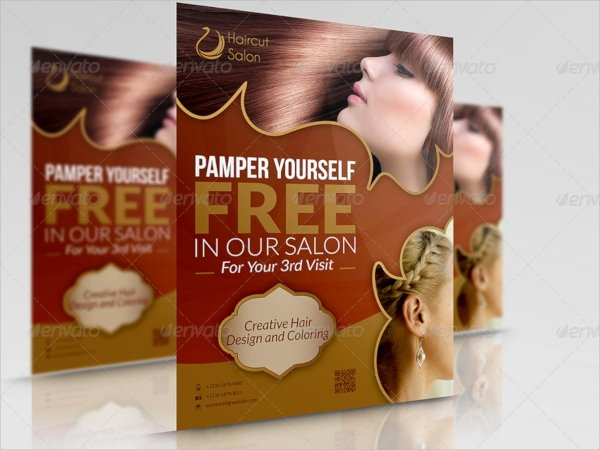 Hair Flyers Free Template Fresh 18 Hair Salon Flyer Templates
