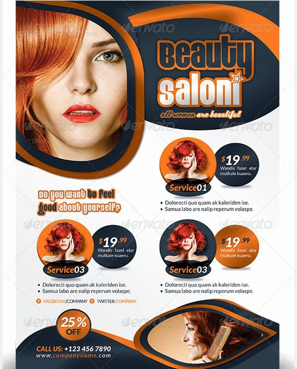Hair Flyers Free Template Fresh 69 Best 66 Beauty Salon Flyer Templates Images On