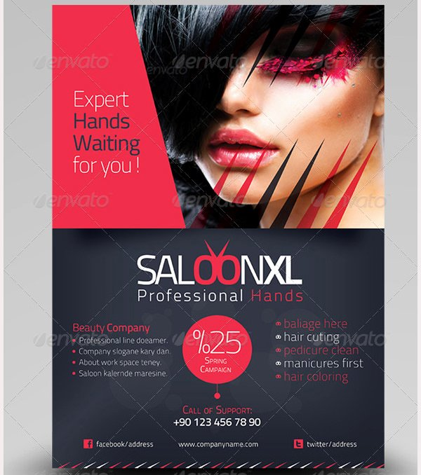 Hair Flyers Free Template Fresh 83 Beauty Salon Flyer Templates Psd Eps Ai