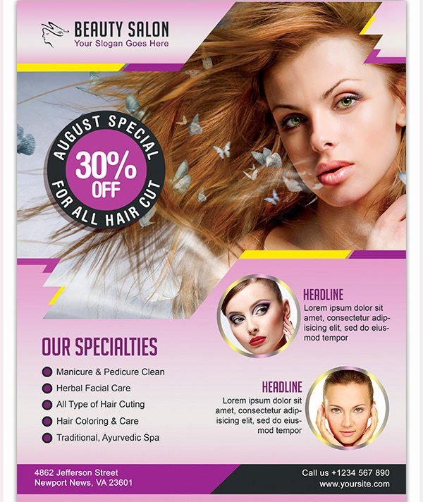 Hair Flyers Free Template Inspirational Hair Flyers Free Template 27 Hair Salon Flyer Templates