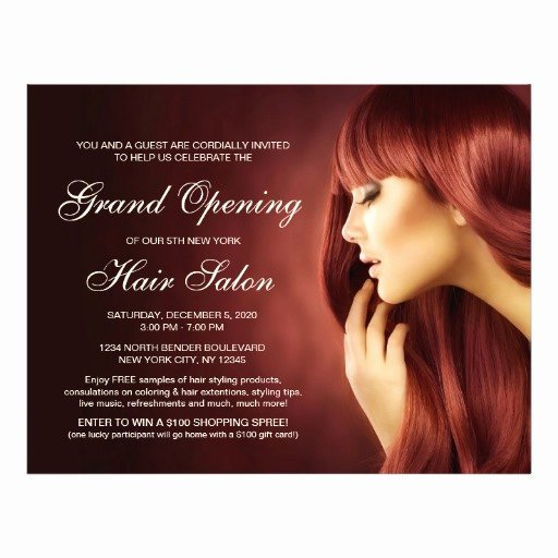 Hair Flyers Free Template Inspirational Hair Salon Grand Opening Flyer Templates