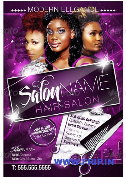 Hair Flyers Free Template Lovely 12 Hair Salon Flyer Psd Hair Salon Flyer