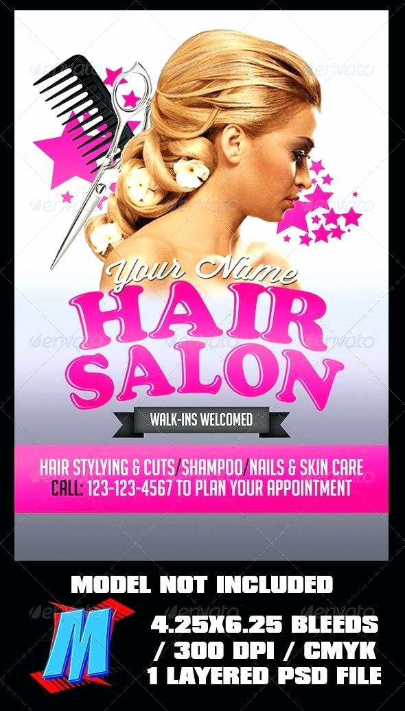 Hair Flyers Free Template Lovely Hair Salon Brochure Template Beauty Flyer Templates Free